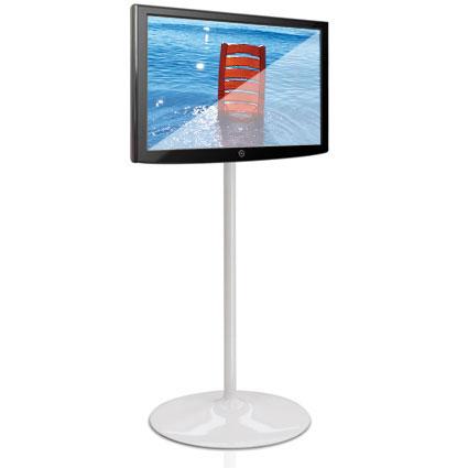 Porta monitori per stand fieristici
