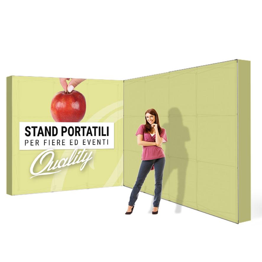stand portatili componibili 4x3