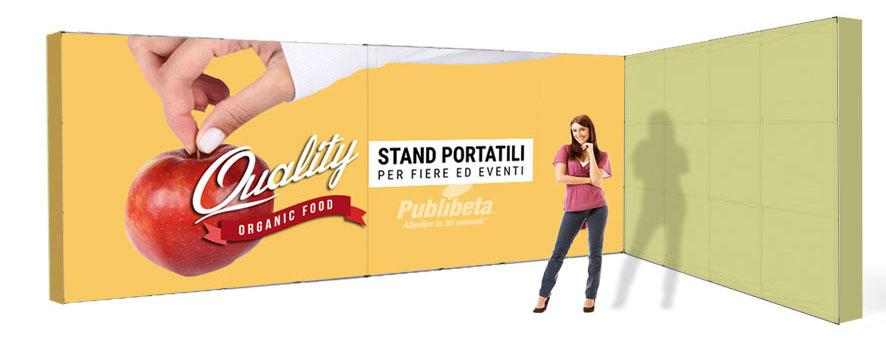 stand portatili componibili 6x3
