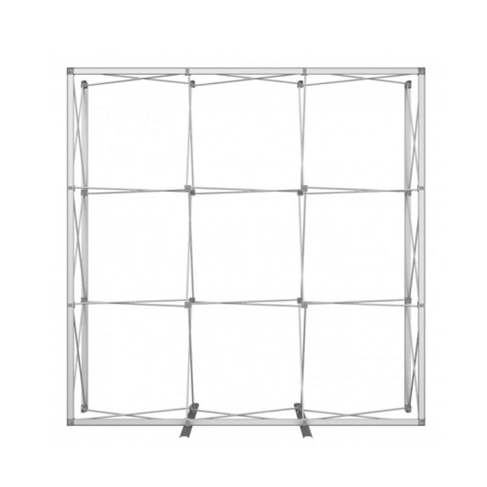 stand portatile per fiera 3x3 moduli