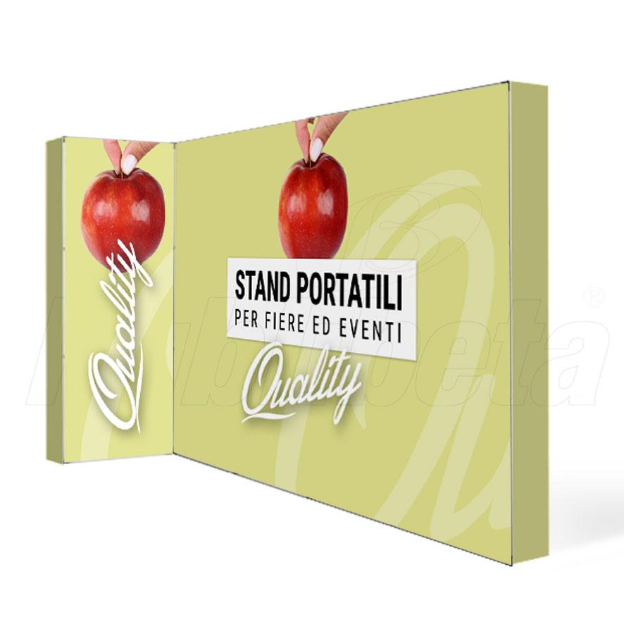stand portatili componibili 4x1