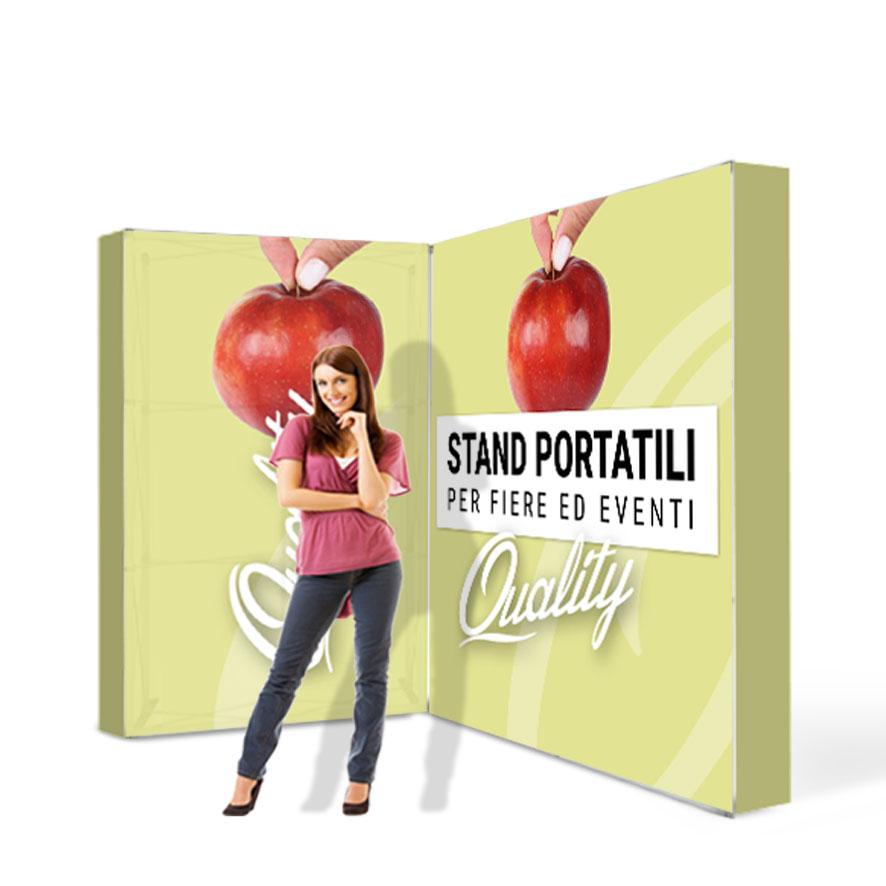 stand portatili componibili 3x2