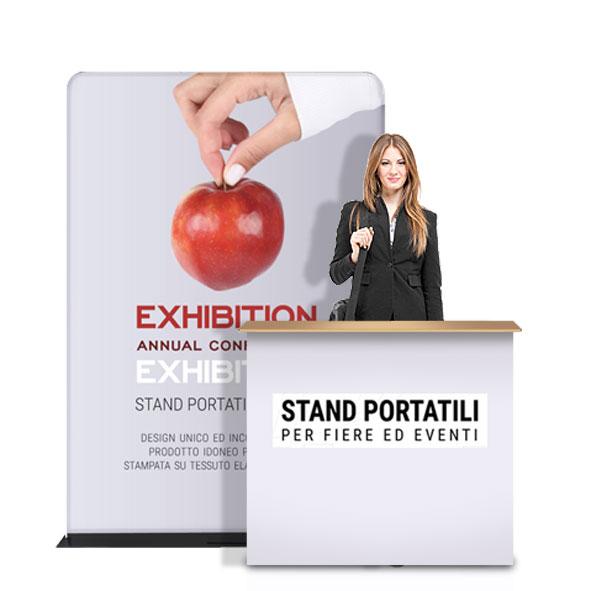 Kit stand portatili per eventi