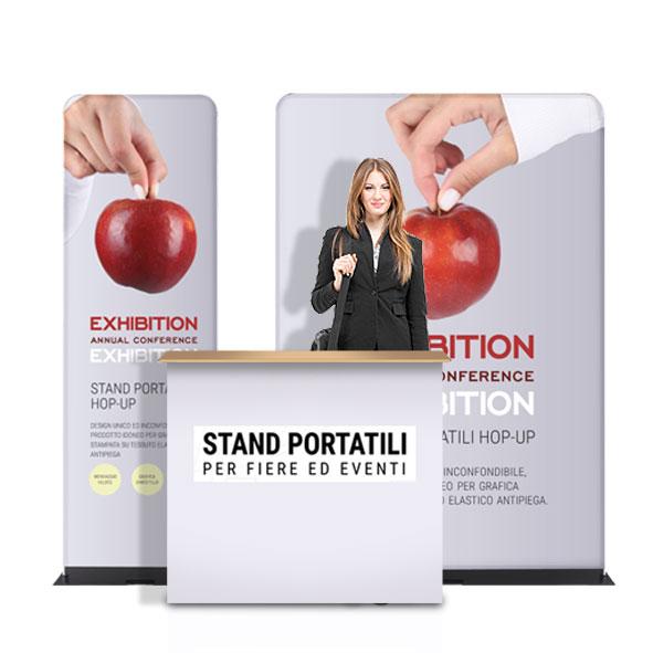 Kit stand portatile per eventi